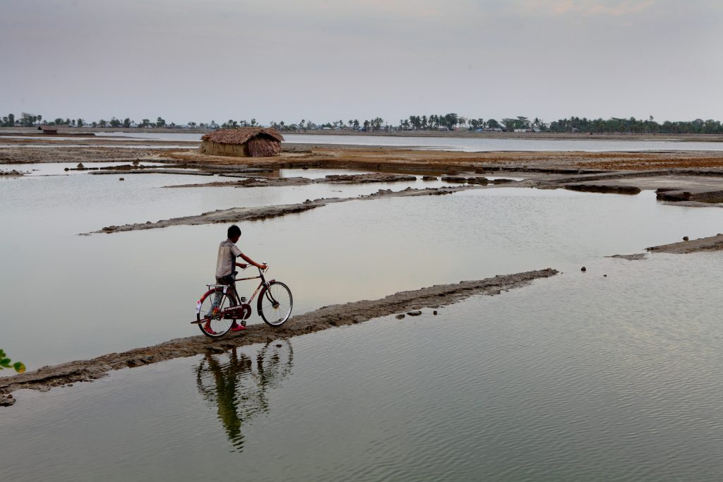 Bangladesh has been identified by the Intergovernmental Panel on Climate Change as one of the countries most vulnerable to rising sea levels and frequency and intensity of extreme weather events. UNDP is working with the government in tackling these issues.