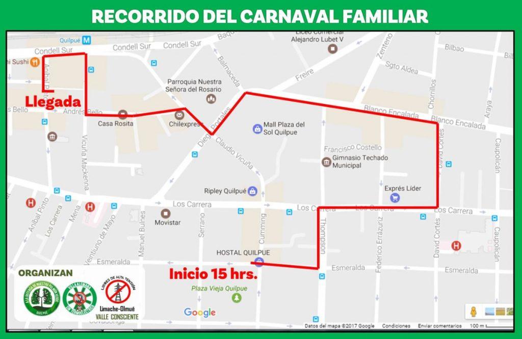rcorrido Carnaval
